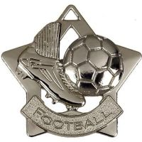 Mini Star Football Medal</br>AM715S